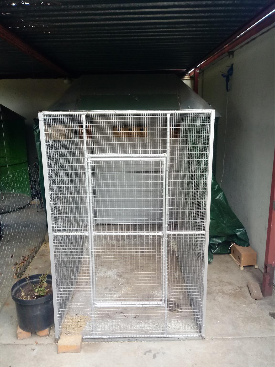 Aviary for sale.