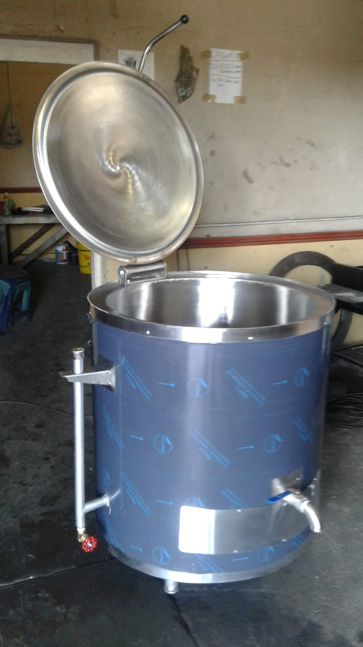 New oil jacketred cooking pots, stainless steel heating/ storage tanks for sale