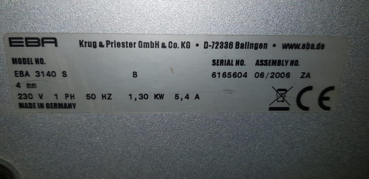 Commercial Shredder EBA 3140