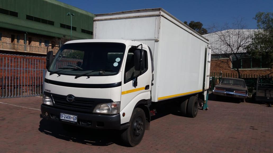 Four ton truck hire Johannesburg