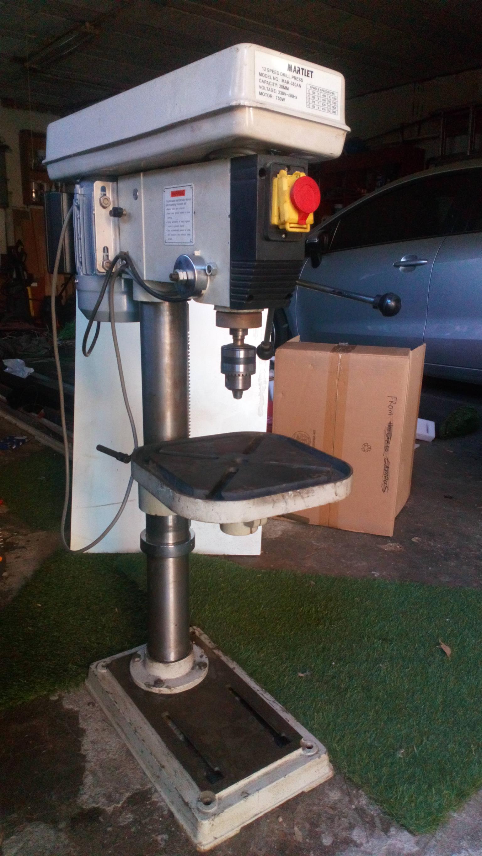 Martlet 750W drilllpress good as new
