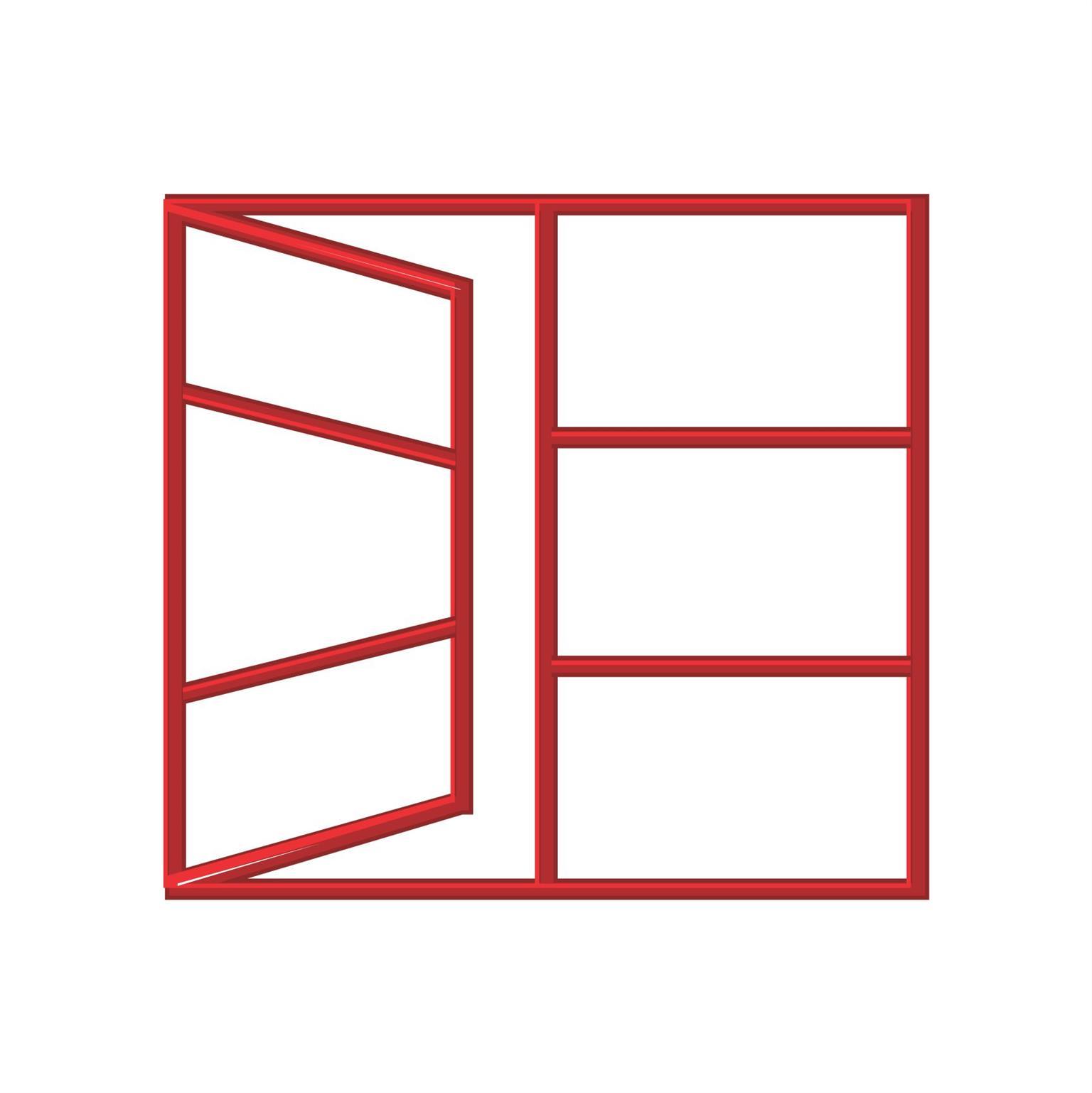 Steel Window Frame C2H