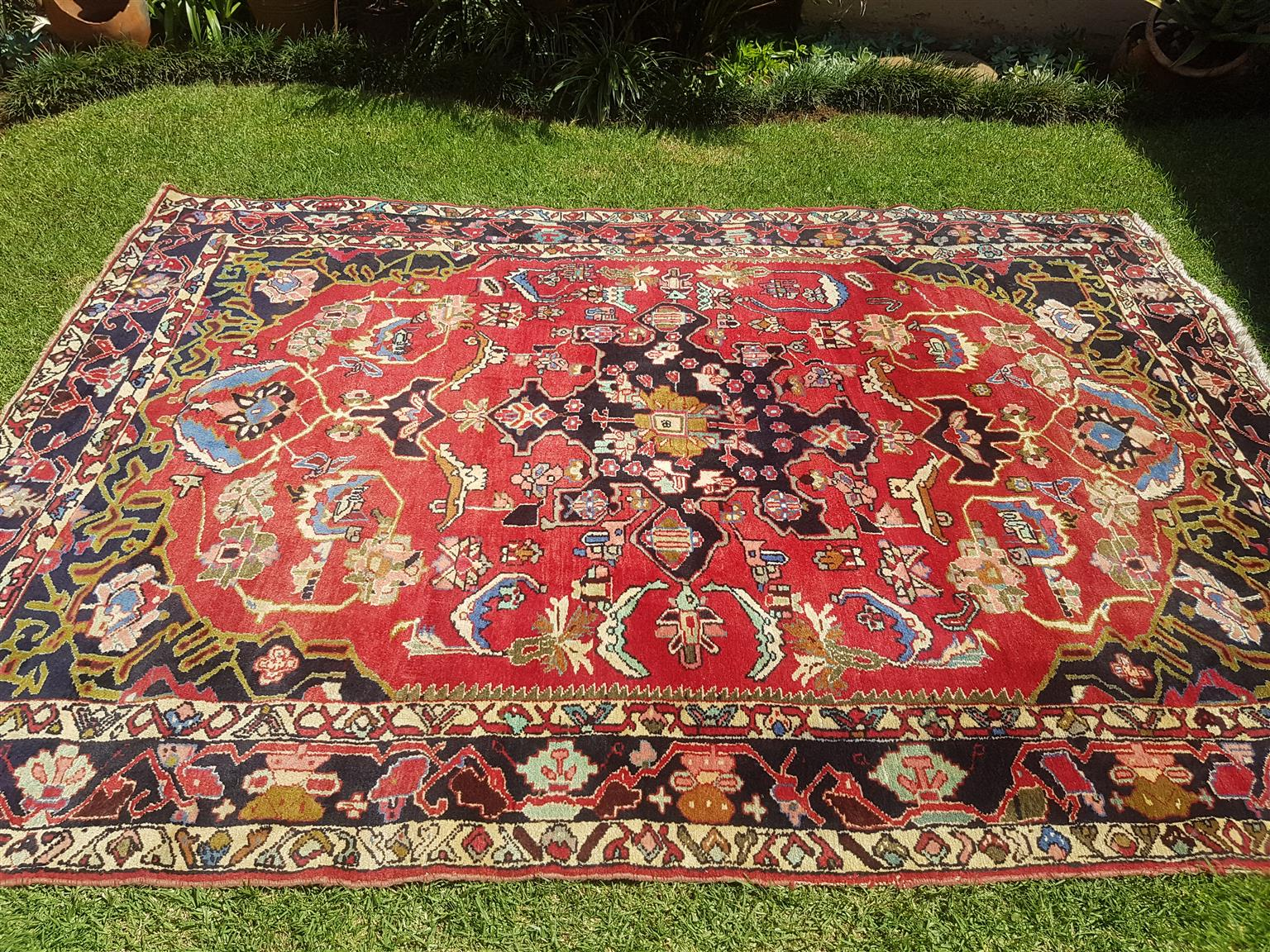Persian rug, bakhit origin 3160mmx2160mm