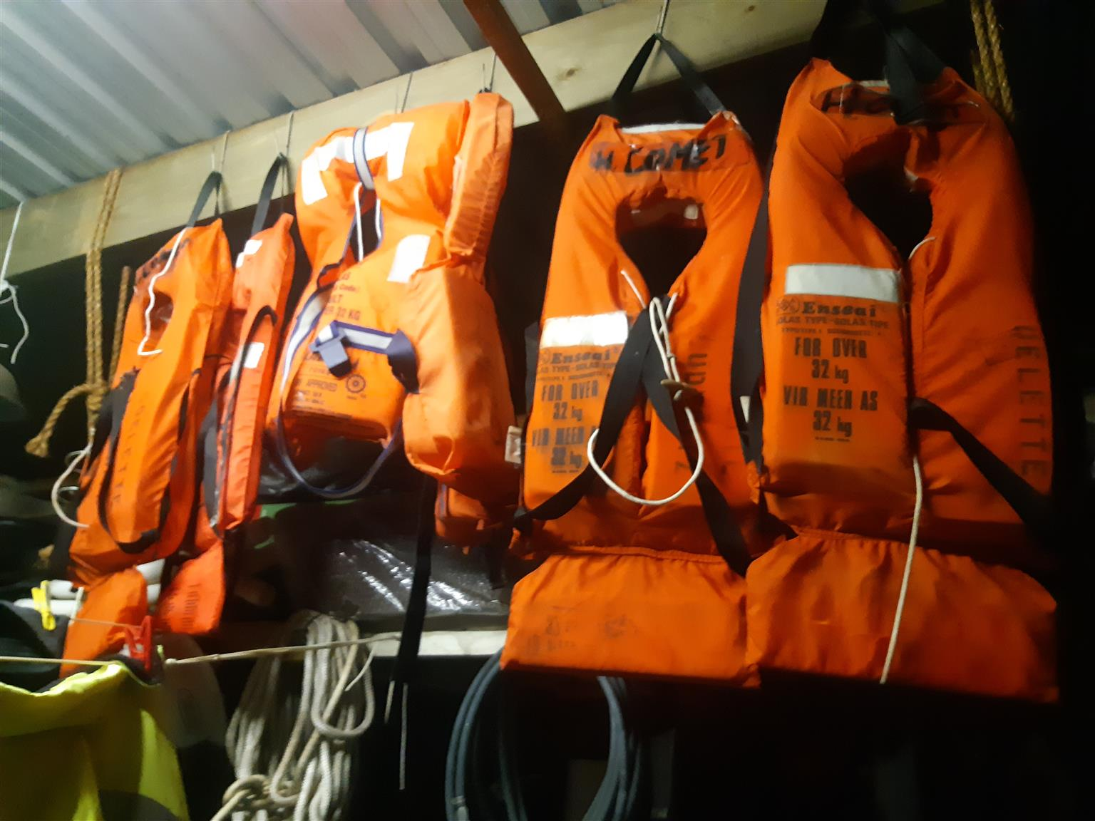 LIFE JACKETS ONLY 6 @ R200 Each ( USED)