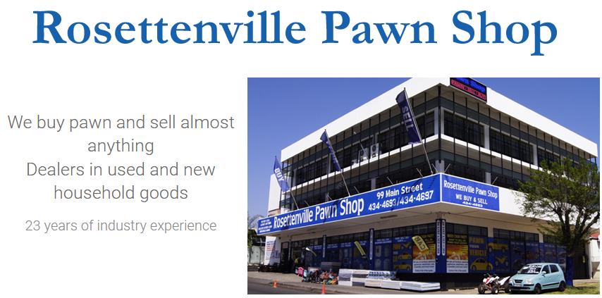 Rosettenville pawn shop