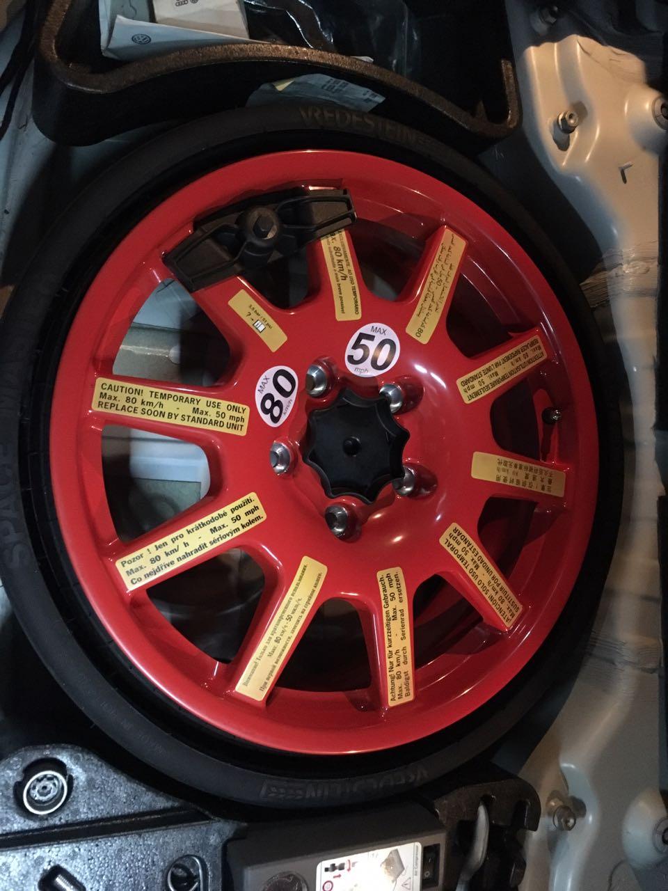 18 Inch Porsche Cayenne Original Collapsible E Saver Spare Wheel At Half Price R6500 Junk Mail