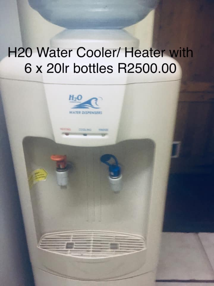 H2O Water cooler/heater for sale