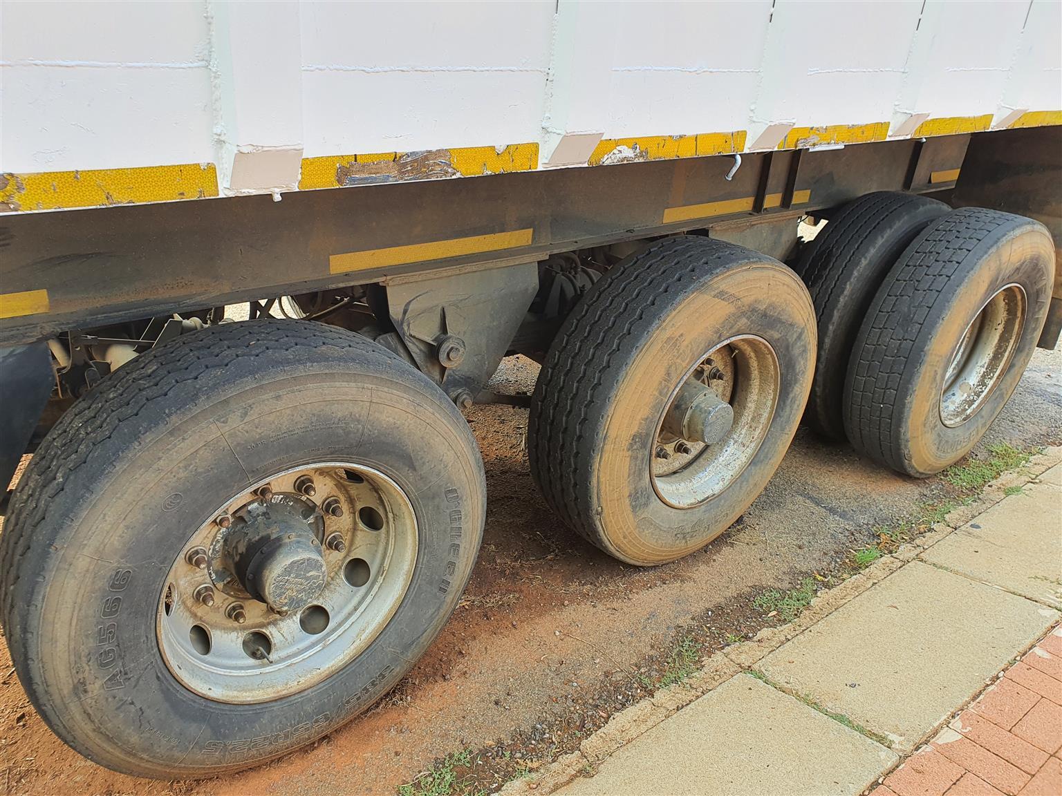 Scrap trailer for sale