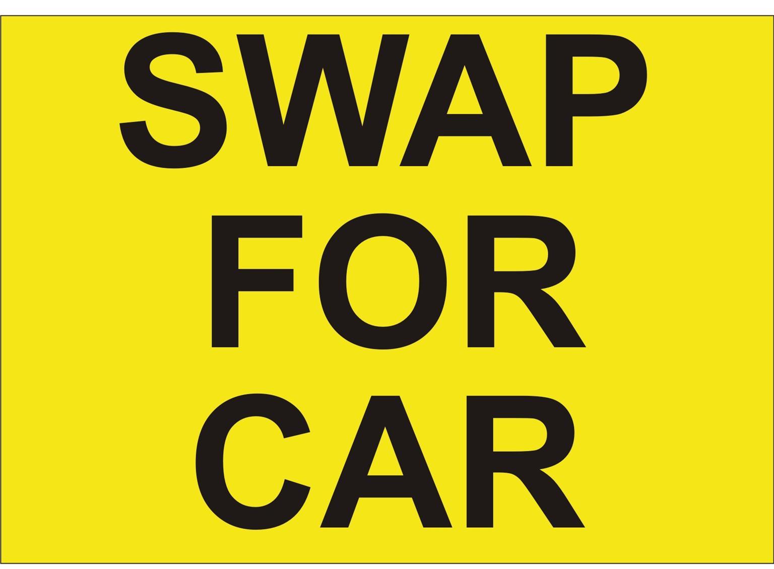 Swap for car