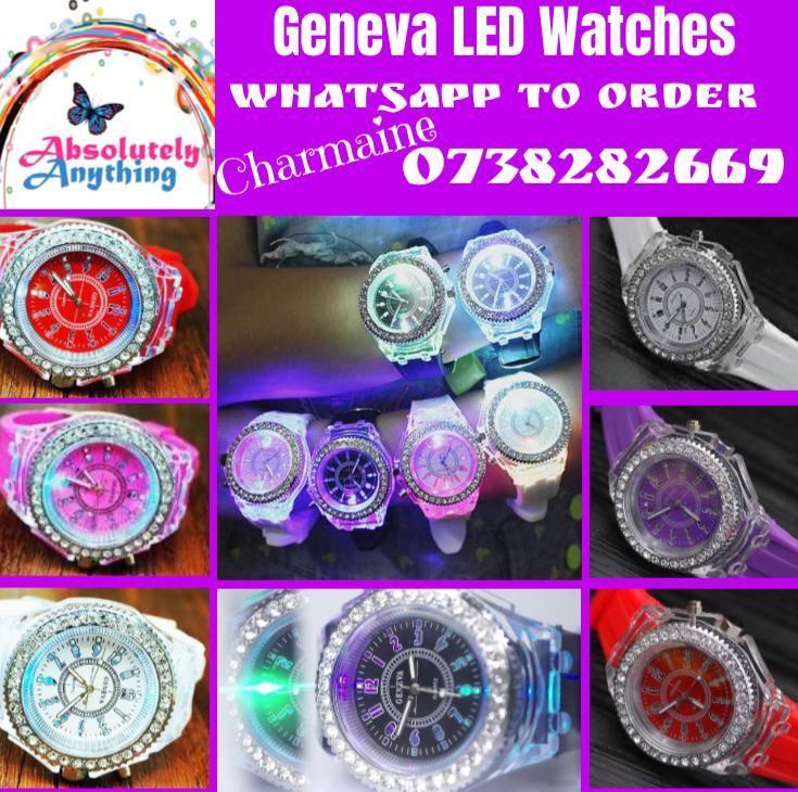 Ladies LED watches