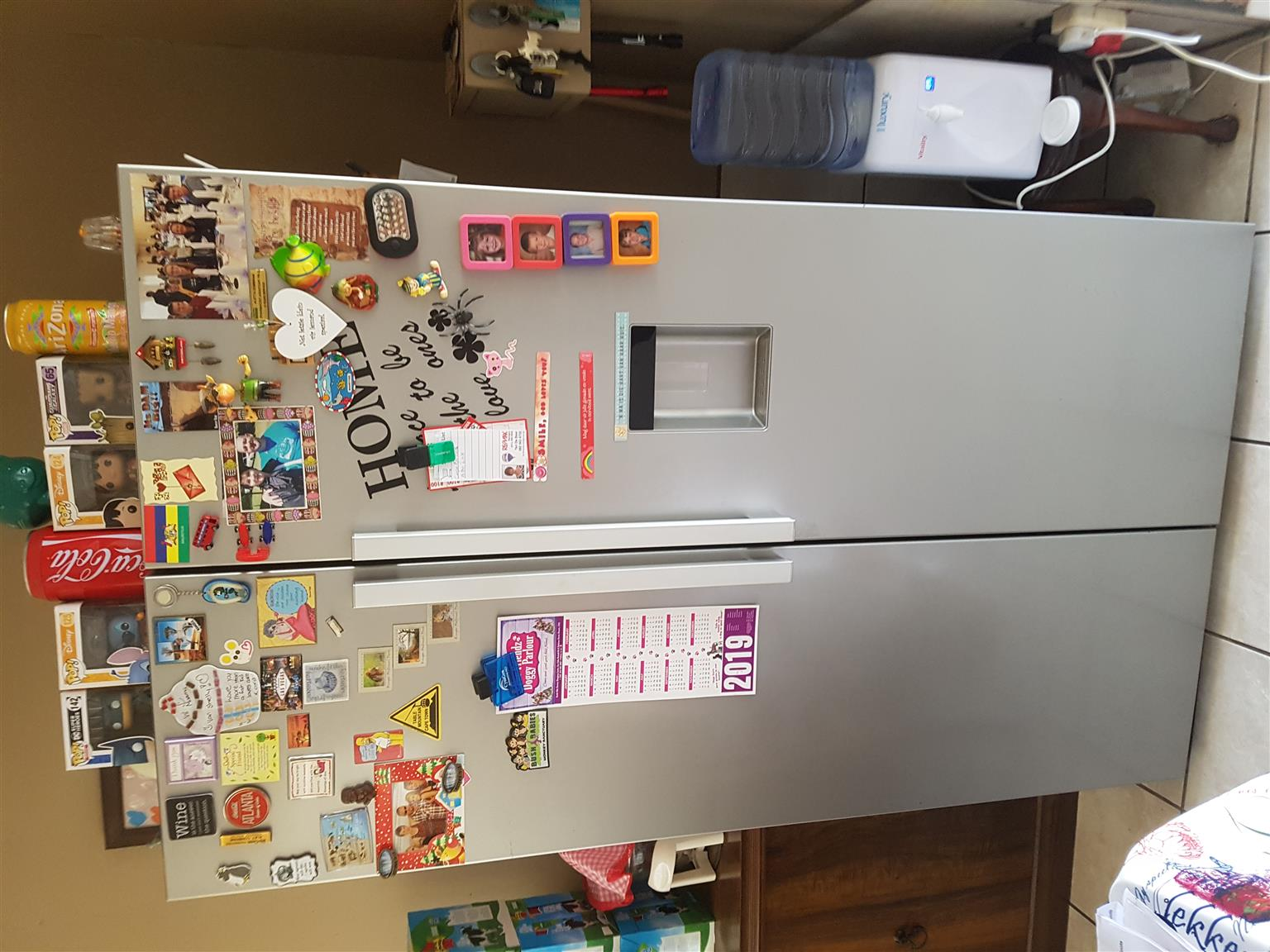 Defy double door fridge