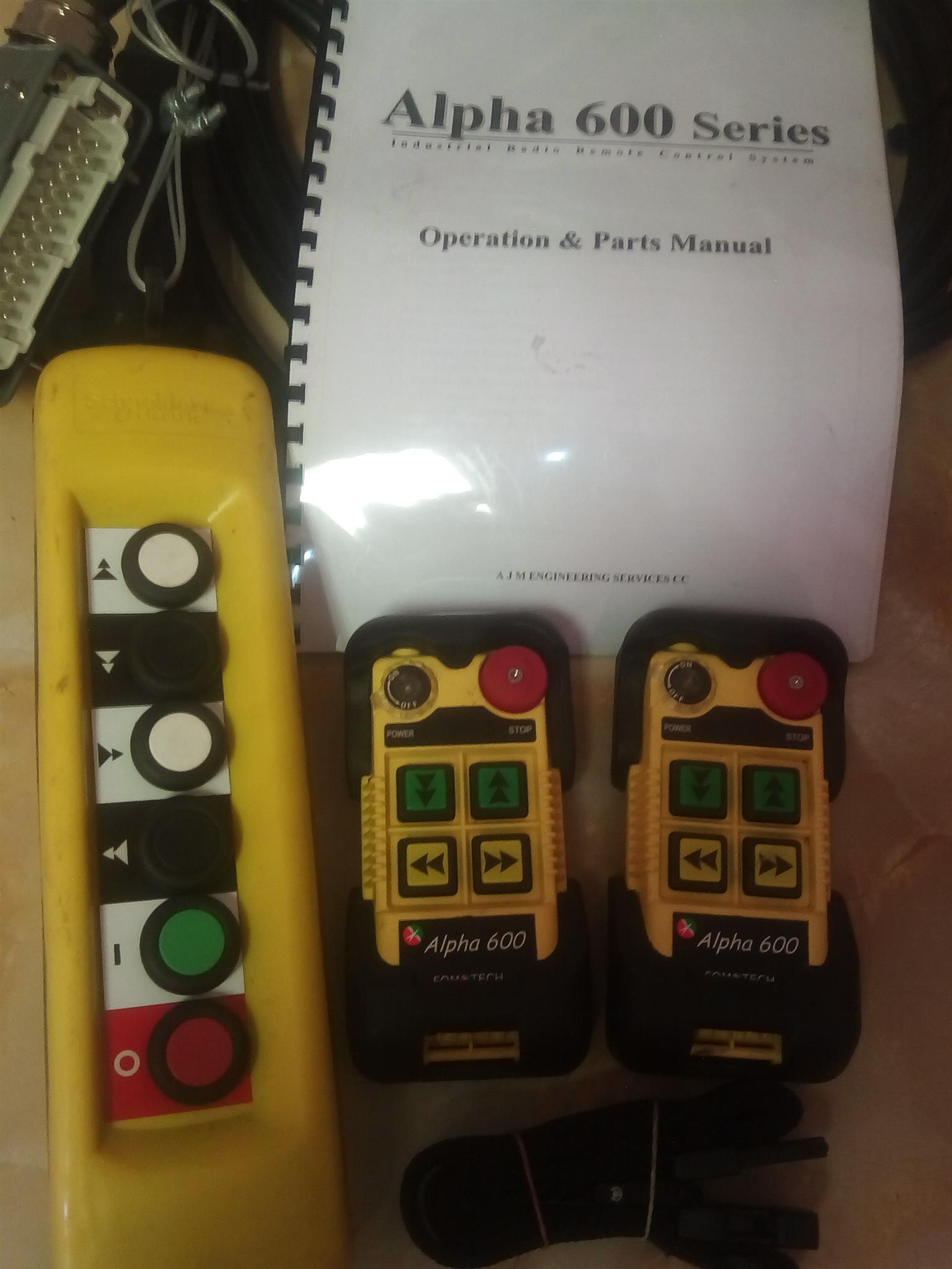crane remotes