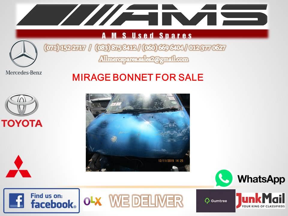 MITSUBISHI MIRAGE BONNET FOR SALE (SECOND HAND)