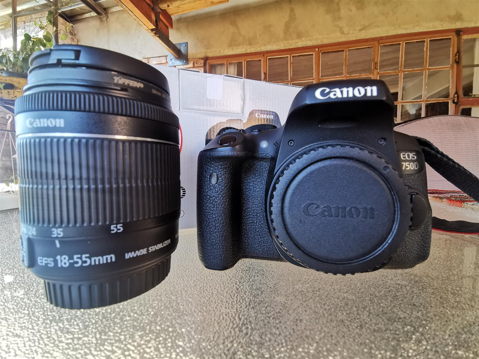 750D Canon and Lenses