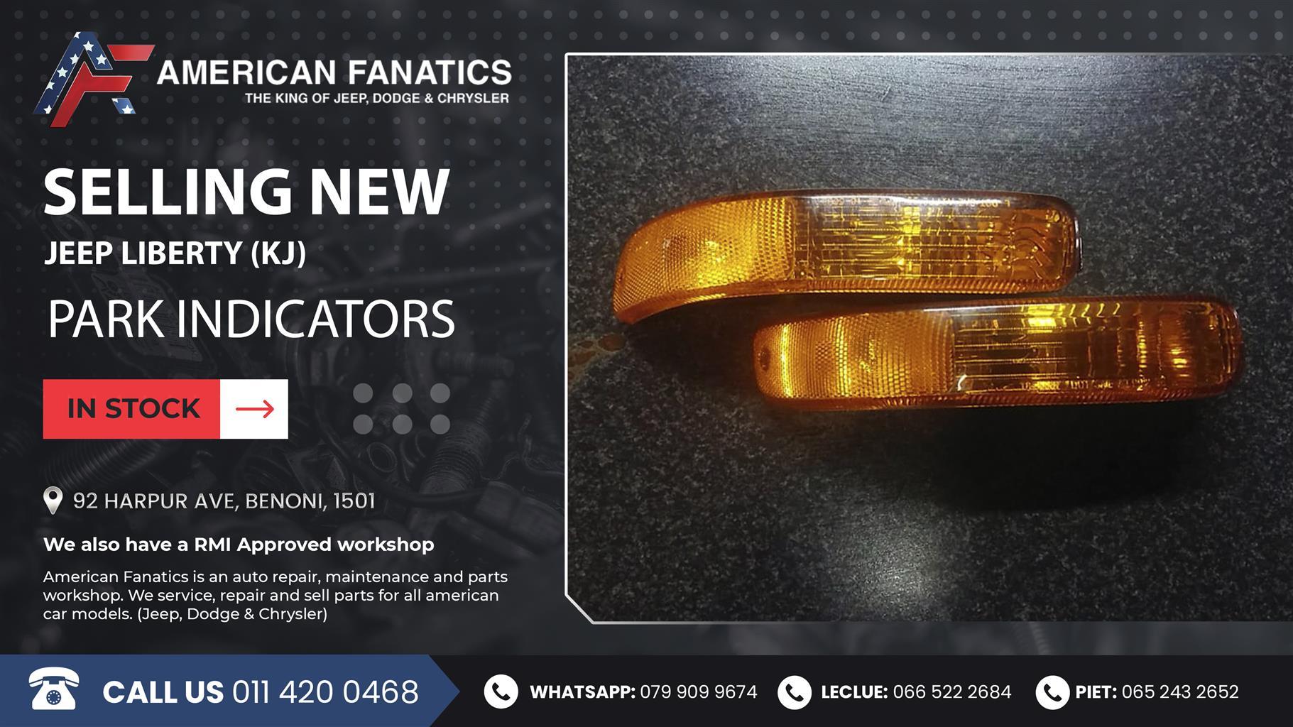 Selling New and used Jeep Liberty KJ Park Indicators! #2