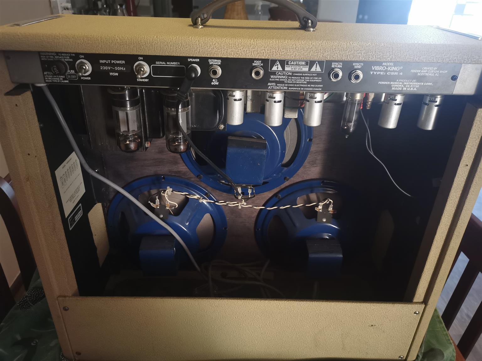 Fender vibro King Amp