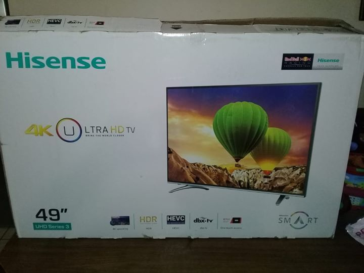 "Hisense 49"" inch 4K UHD OLED TV"