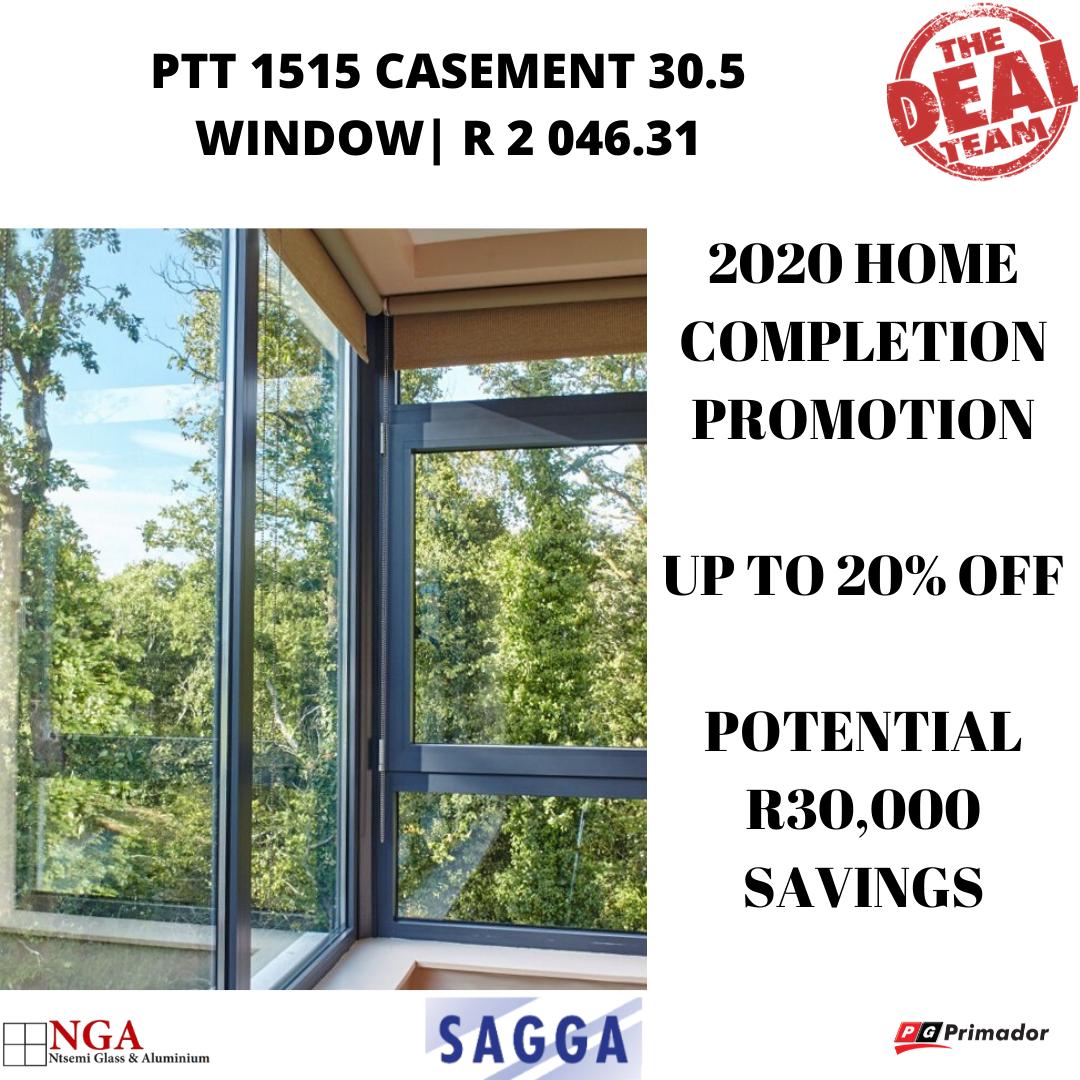 PTT1515 Casement 30.5 Window | 2020 Promo