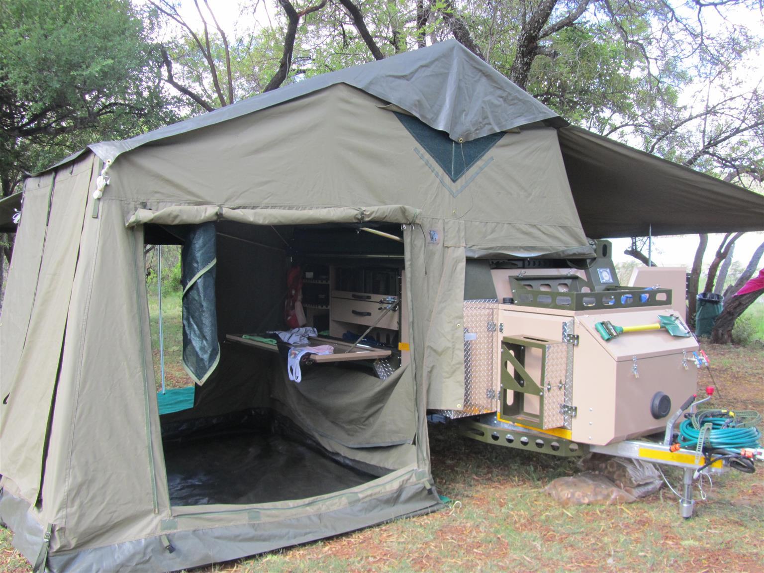 Conqueror Comfort camping trailer