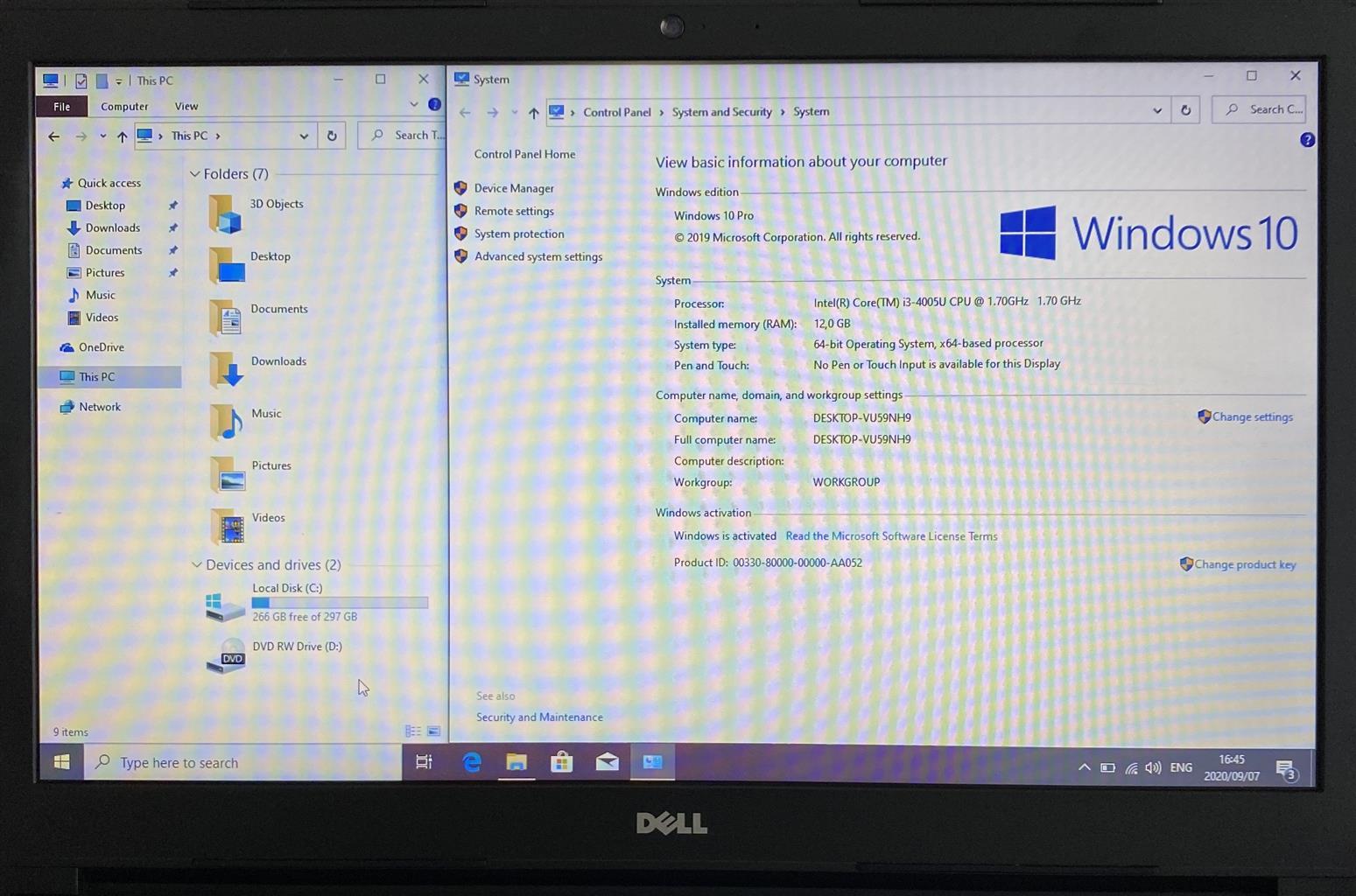 Dell Core i3 Beast 4th Gen. Laptop