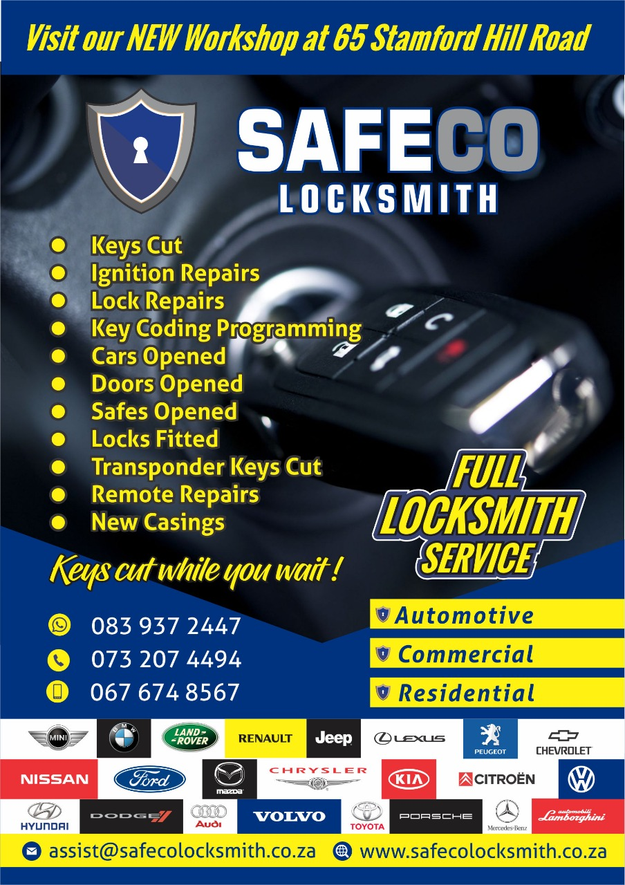 SAFECO LOCKSMITH & SECURITY - MEETING YOUR SECURITY NEEDS