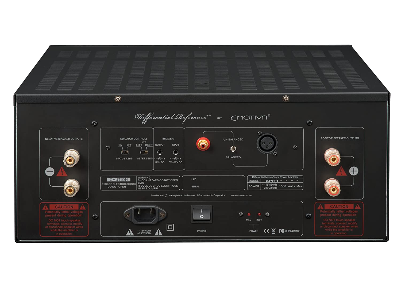 EMOTIVA XPA-1 MONO BLOCK POWER AMPLIFIERS