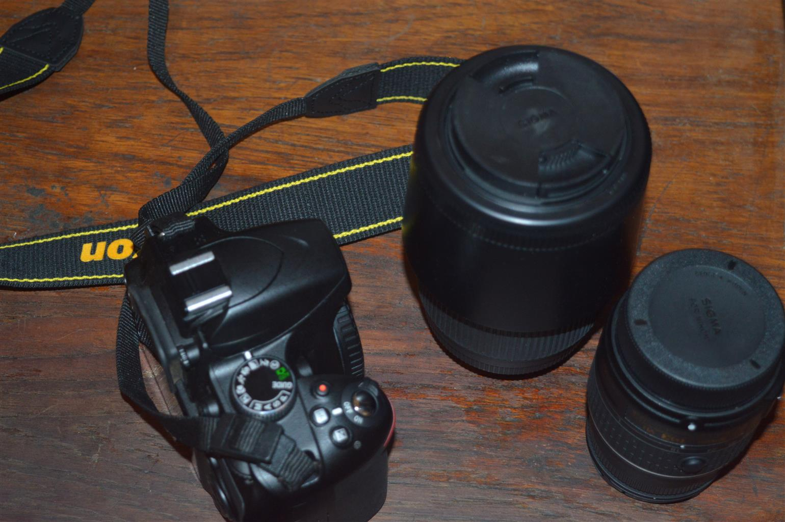 Bargain!! Nikon D3200 Camera with 18-55mm and 70-300mm