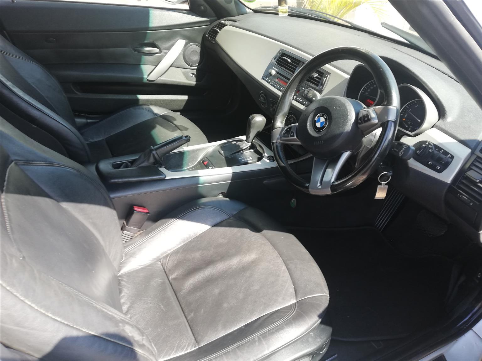 2004 BMW Z4 2.5i steptronic