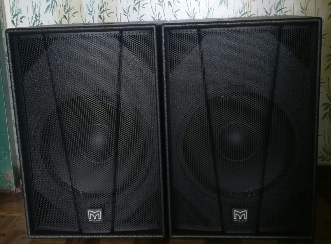 Professional audio speakers