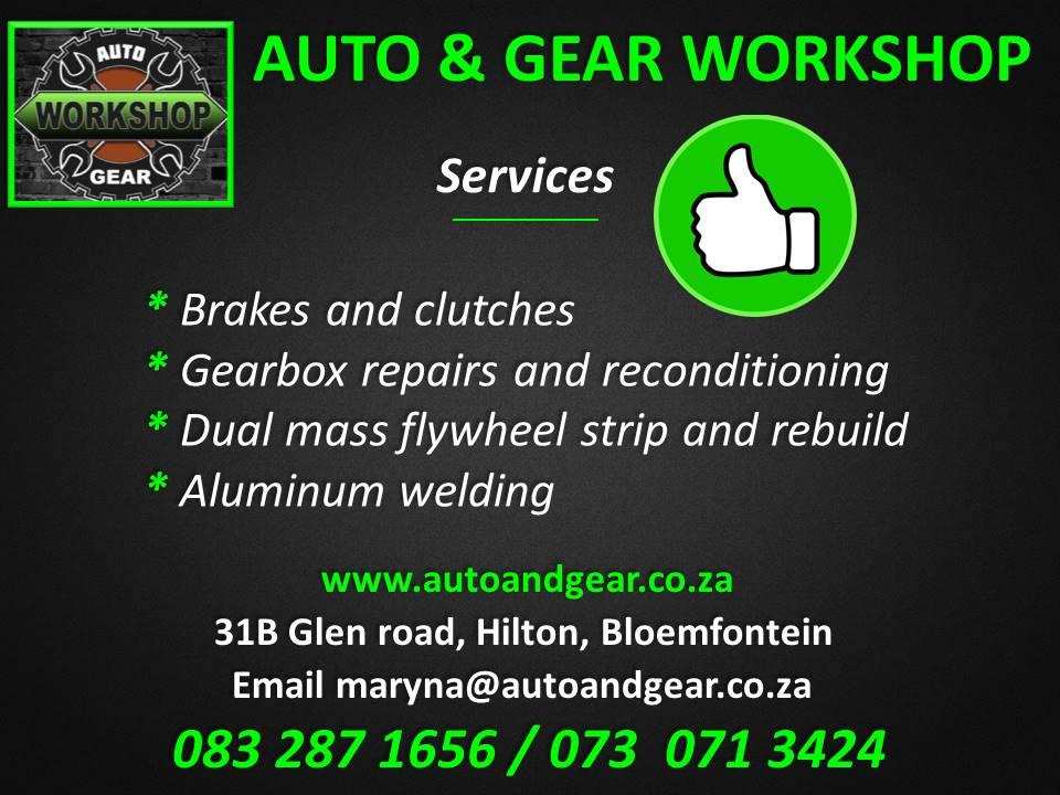 GEARBOX, BRAKE & CLUTCH REPAIRS
