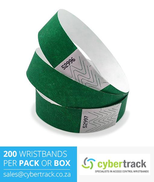 200 Tyvek Wristband Packs