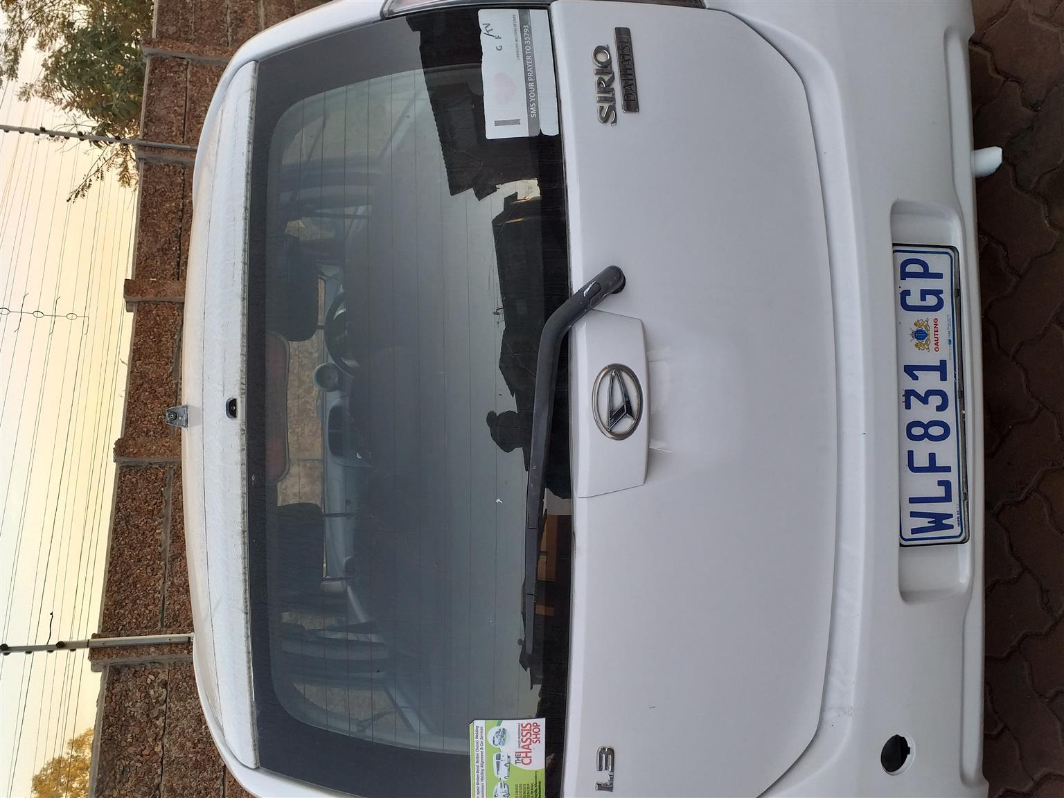 2005 Daihatsu Sirion 1.3