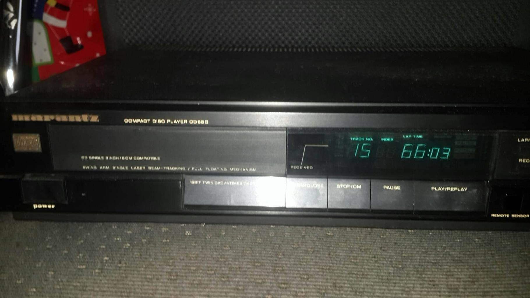 Marantz CD Player CD65II
