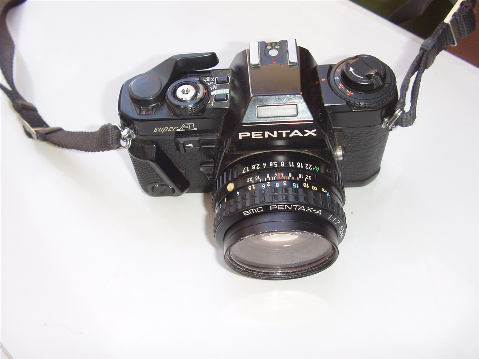 Pentax  Super A  - 50mm Camera - in excellent condition