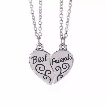 Best Friends Necklace (2 piece)