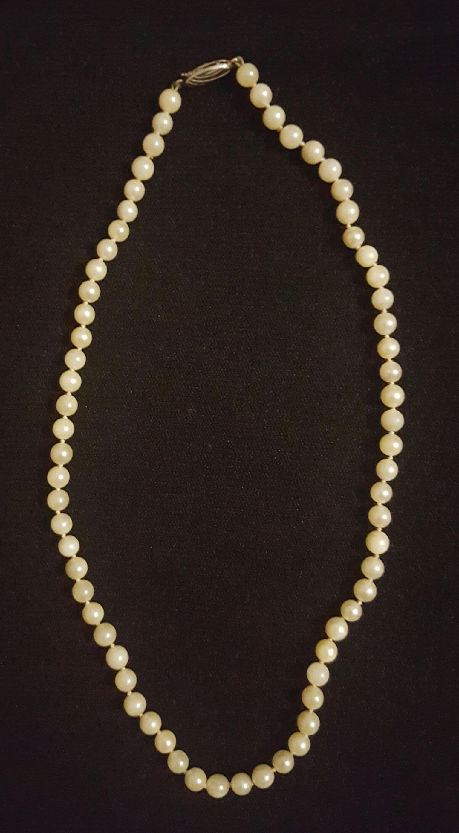 akoya saltwater pearl necklace for sale  30dbdcf470