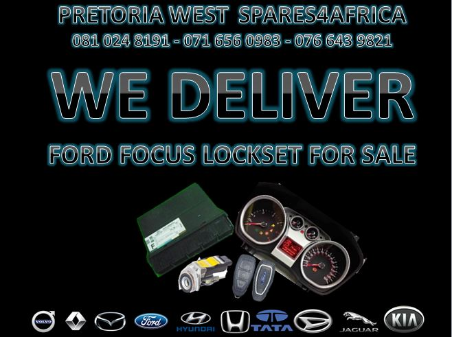 FORD FOCUS LOCK SET FOR SALE !!