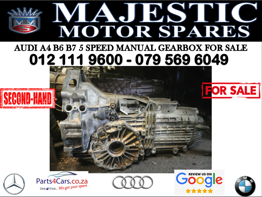 Audi A4 B6 B7 gearbox for sale