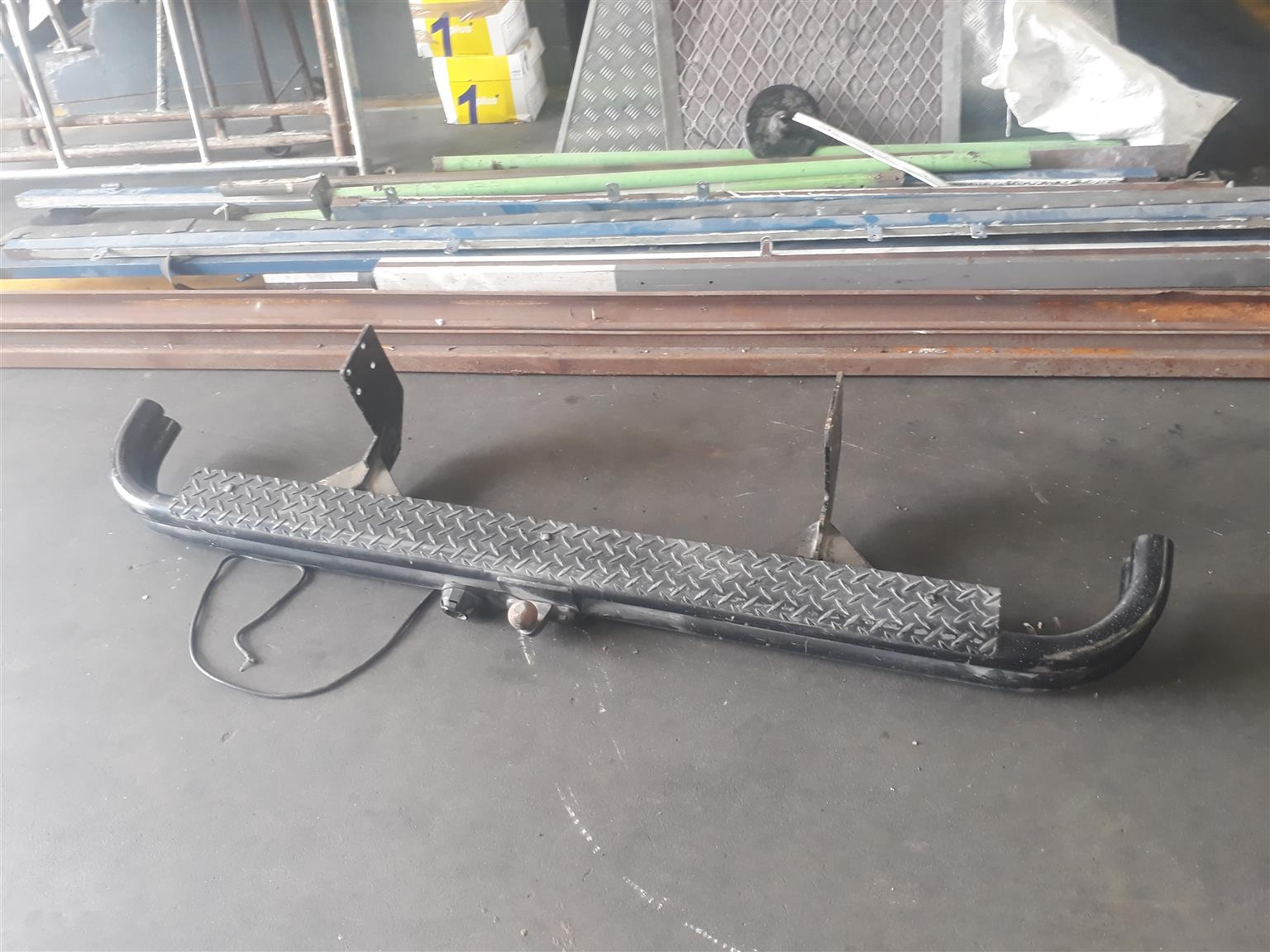 nudge bars and tow bars