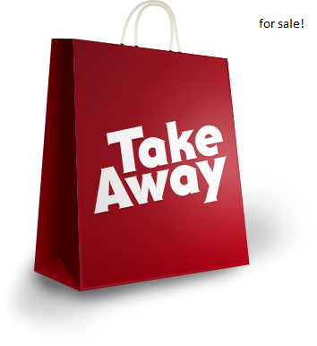 Take aways with very good profits for sale!