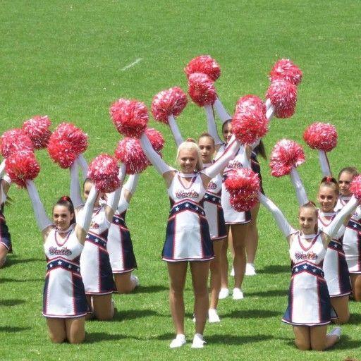 Pom Poms for Cheerleaders in SA