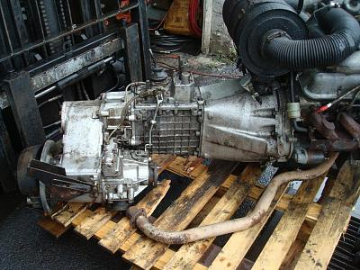 Land Rover LT85 Gearbox with LT230 Transfer Case for a Defender 110 V8