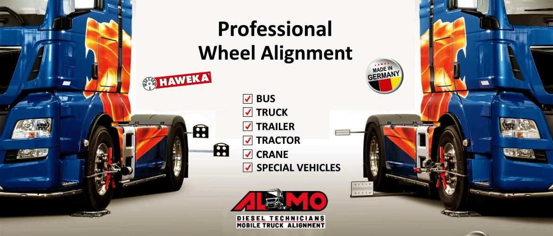 Mobile Truck Alignment