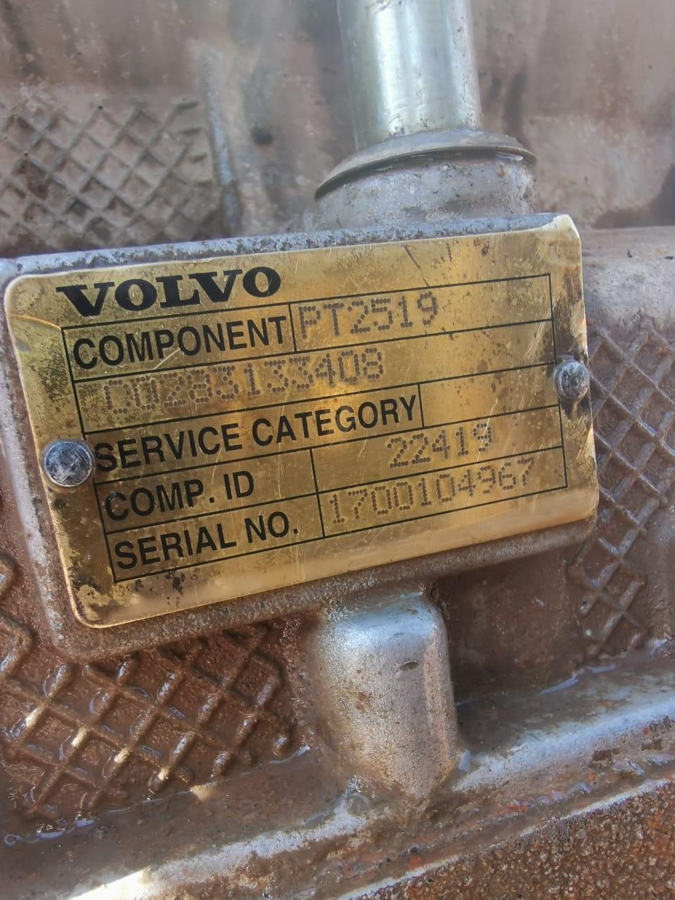 Volvo A40 F transmission