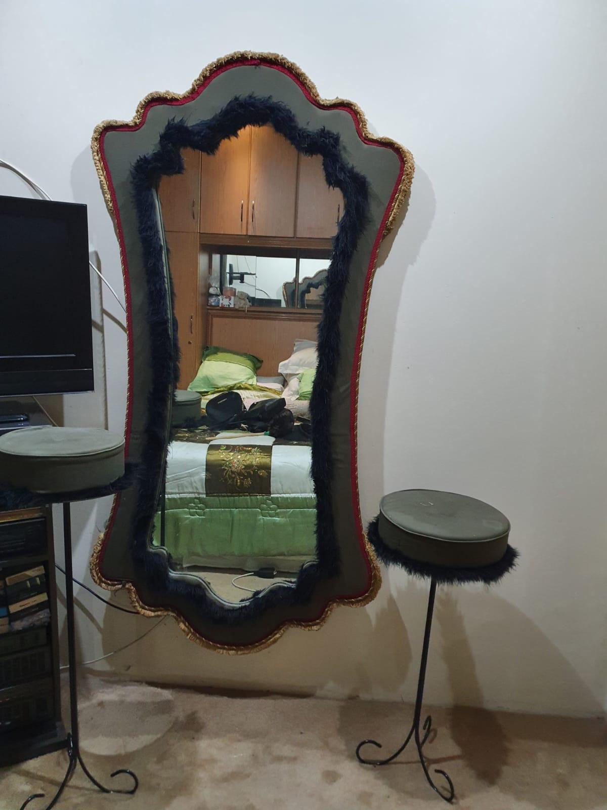 Vintage dress mirror