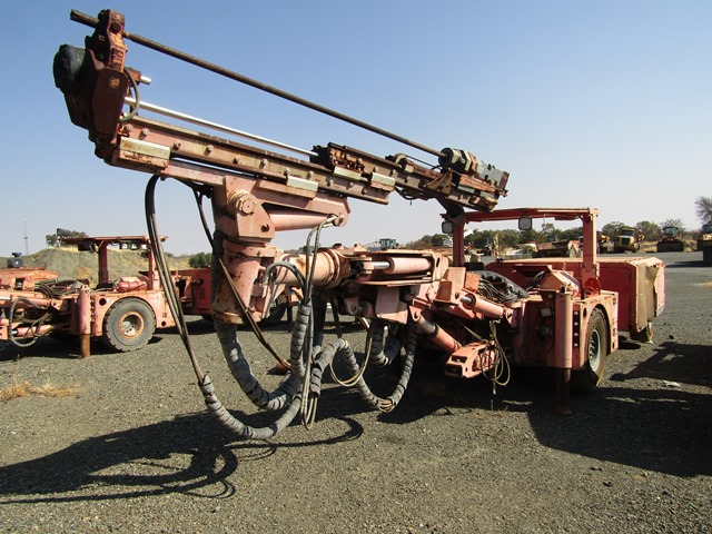 SANDVIK Drill Rig - ON AUCTION