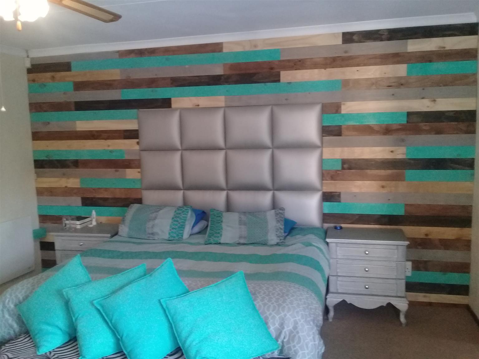 Wall Cladding, decoration & shelving