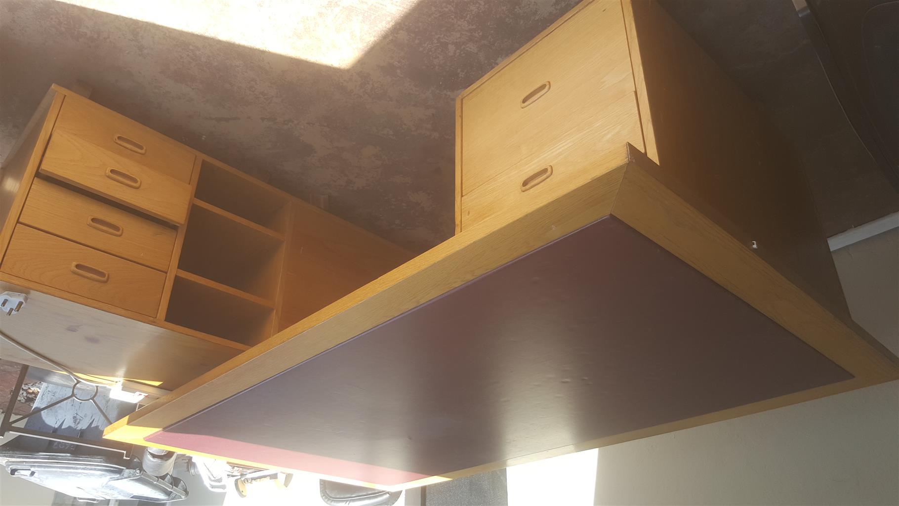 Big Oak wooden desk