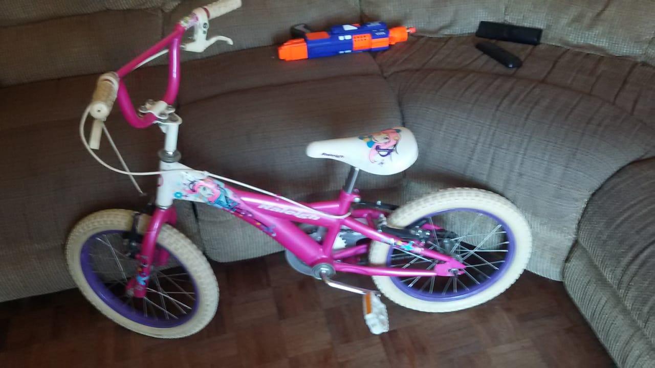 Girls raileigh bike