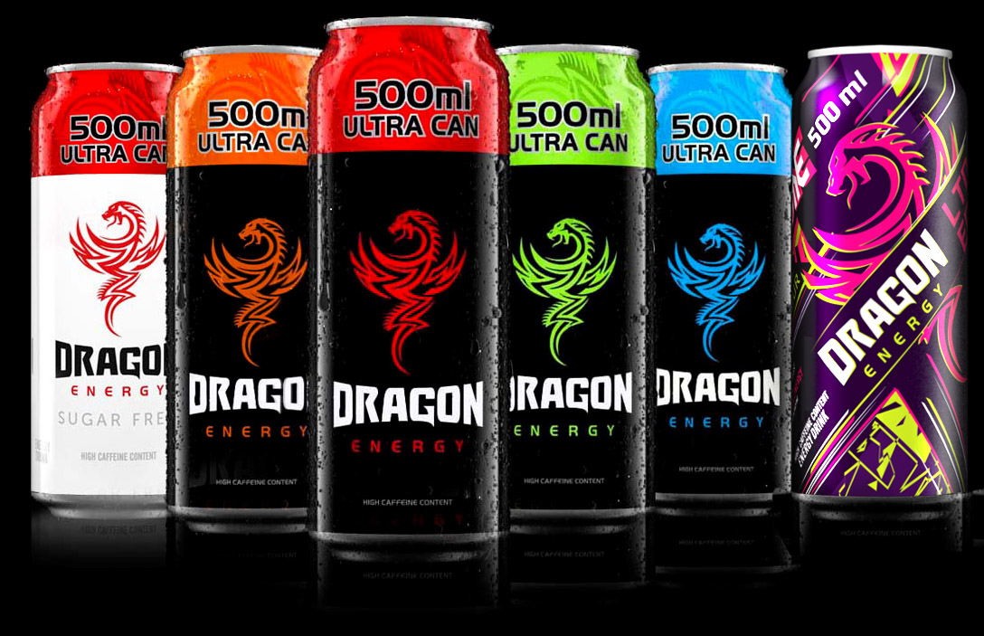 Dragon Energy Drinks for sale